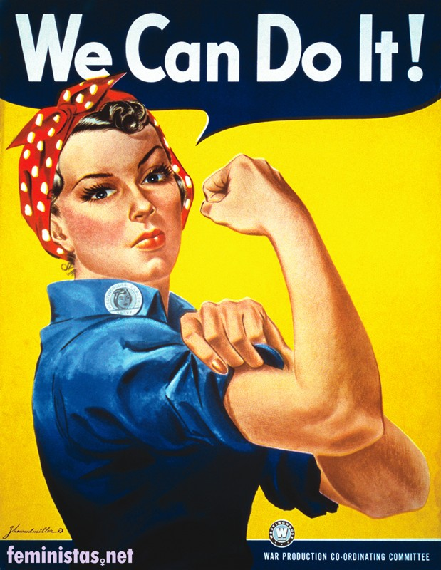 Poster feminista We Can Do It